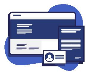 illustration about Web Design & Development