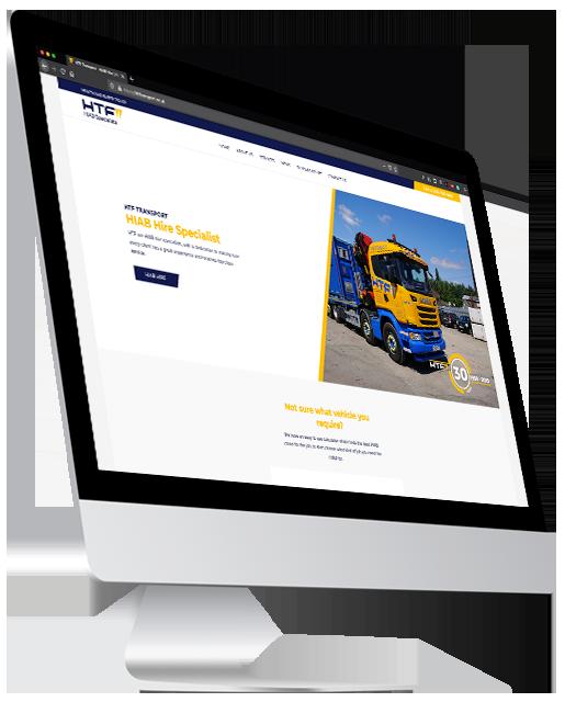 HTF Transport, Digital Marketing & SEO